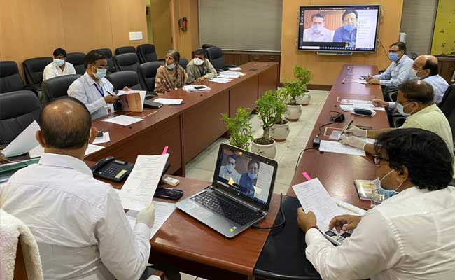 Yamuna Authority allocated institutional plots through video conferencing