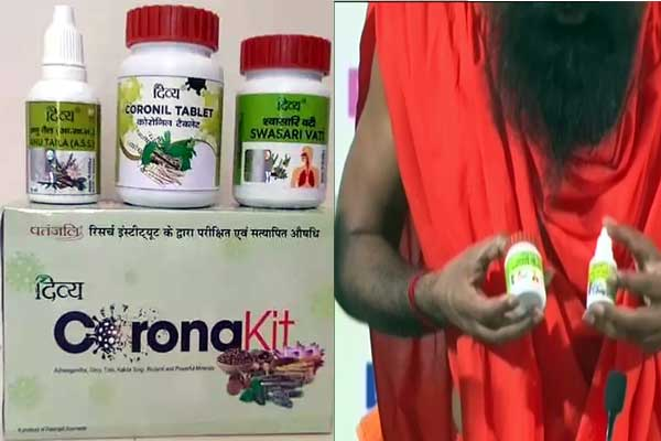 Government bans Patanjali's promotion of Corona drug Coronil